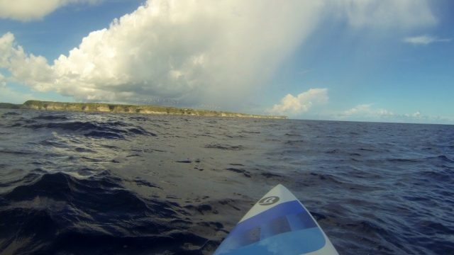 stand up paddle guadeloupe ocean papillon