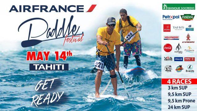 Air France Paddle Festival tahiti 2016