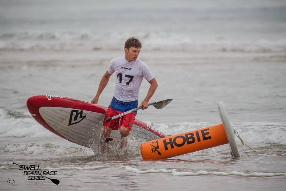 tom auber swell beach race series 2016