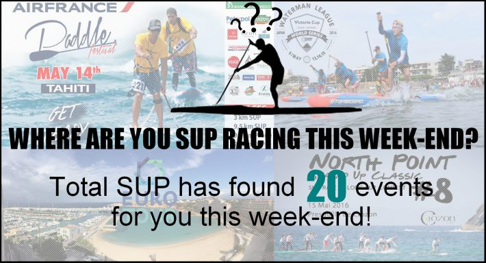 Where are you SUP racing this week-end?