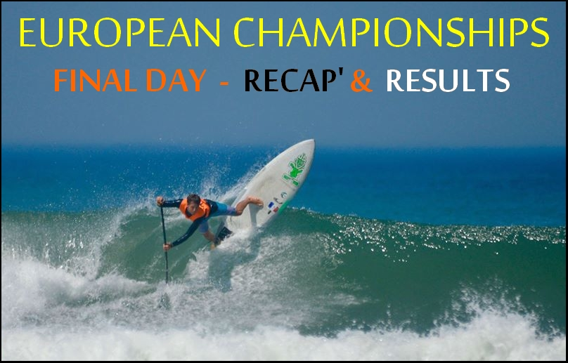 European SUP Championships – Recap & results of the Final Day