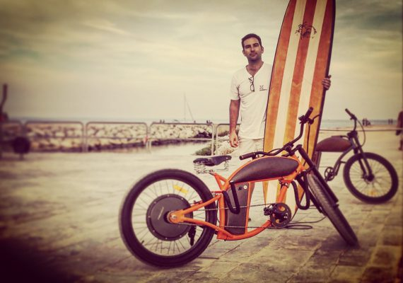 Rayvolt: The new e-bikes venture of Starboard's SUP designer Mathieu Rauzier