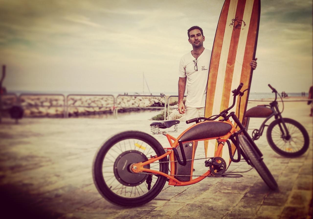Rayvolt: The new e-bikes venture of Starboard's SUP designer Mathieu Rauzier