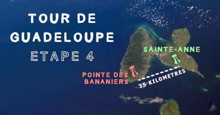 Tour de Guadeloupe Etape 4 – Sainte-Anne/Bananiers
