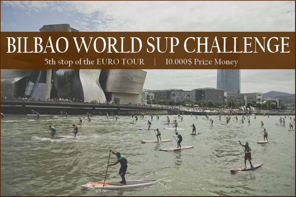 Today is Day 1 of the BILBAO World SUP Challenge!