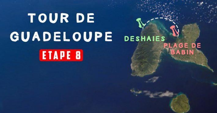 Le Tour de Guadeloupe Etape 8 – Plage de Babin/Deshaies