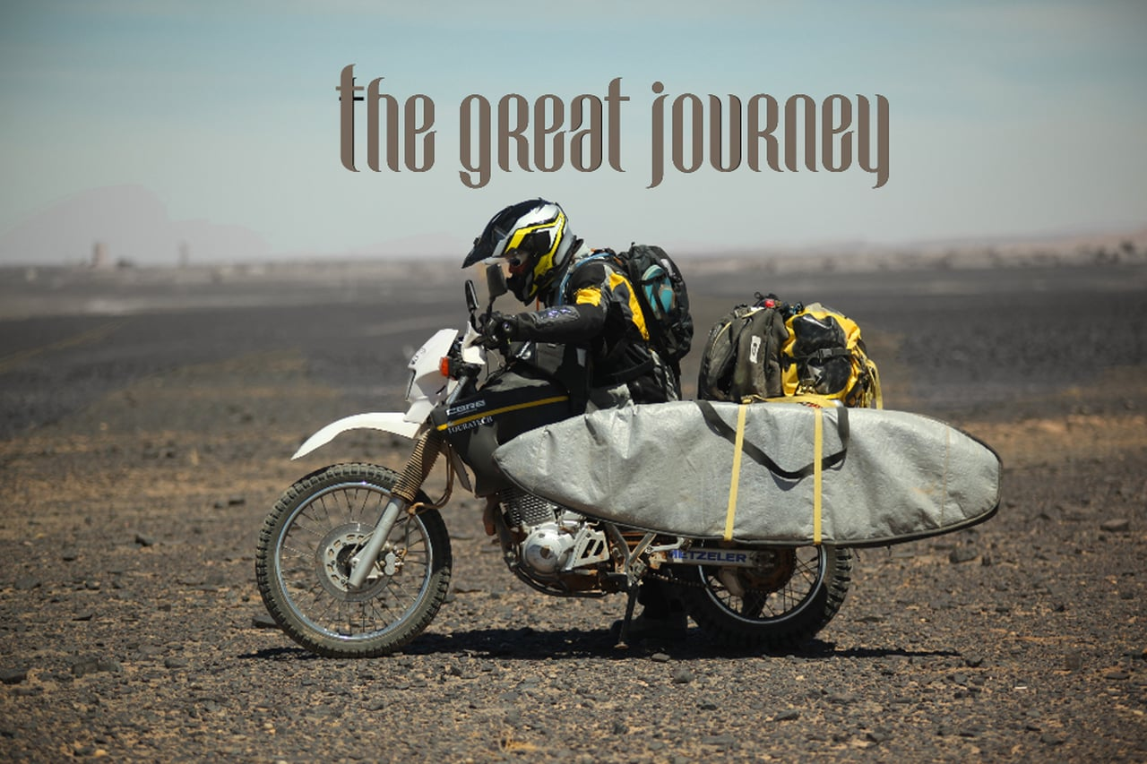 The Great Journey – A fantastic SUP/Kite Adventure