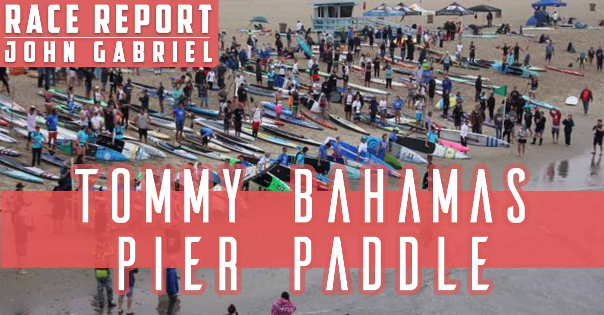 Danny Ching & Shae Foudy take Overall wins at the Tommy Bahama Pier Paddle in Santa Monica this past Saturday