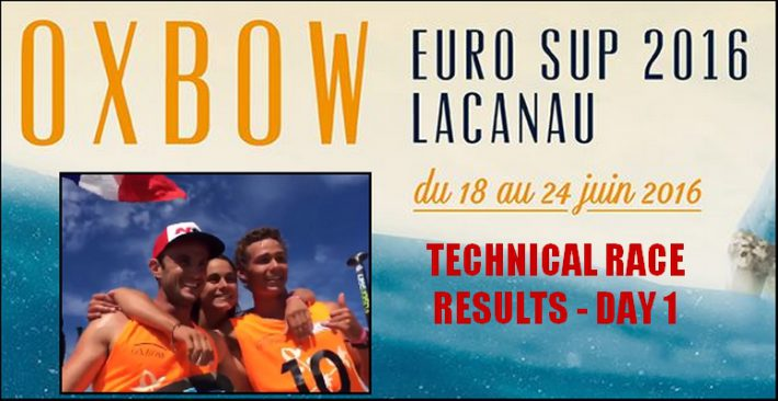 European SUP Championships – France dominates Day 1