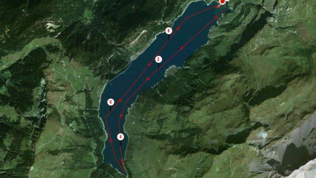 Alpine Lakes Tour 2016 longue distance 10km