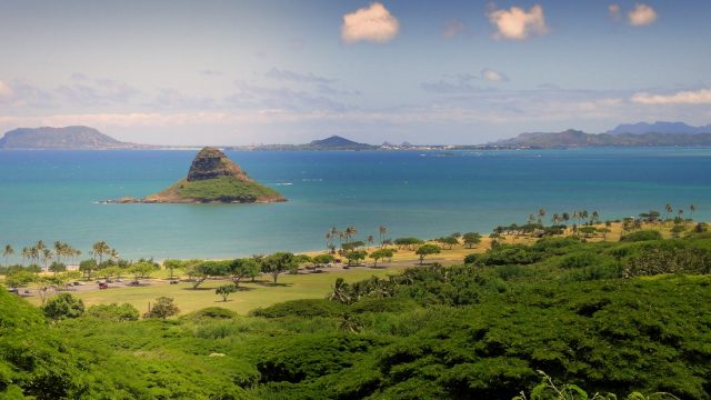Chinaman Hat Oahu Hawaii