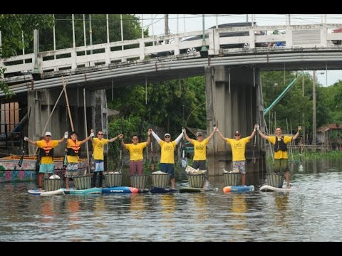 Trash Hero: Cleaning Bangkok on SUP boards