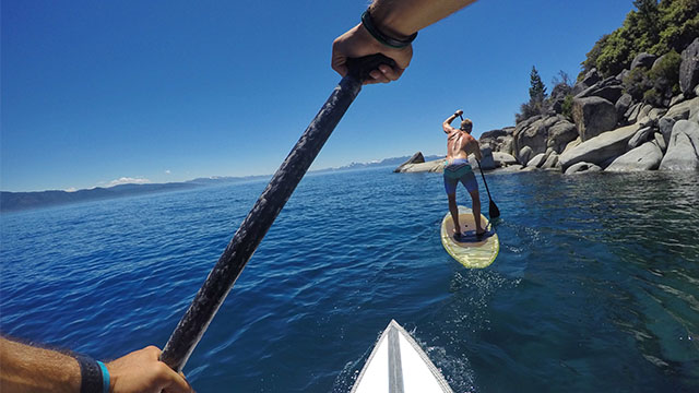 lake tahoe stand up paddle john gabriel