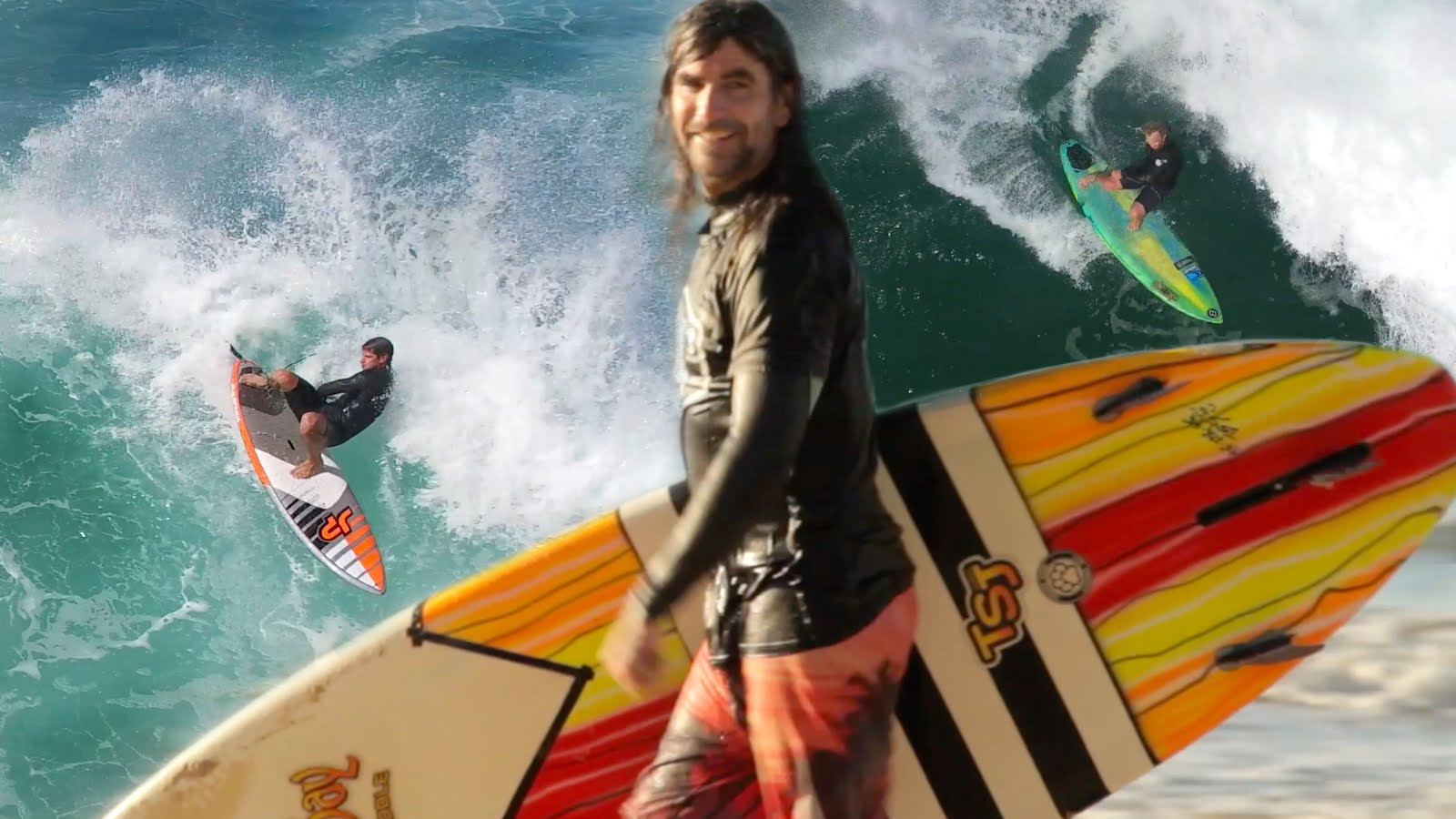 Music Video: 3 SUP Surfers and a Drone