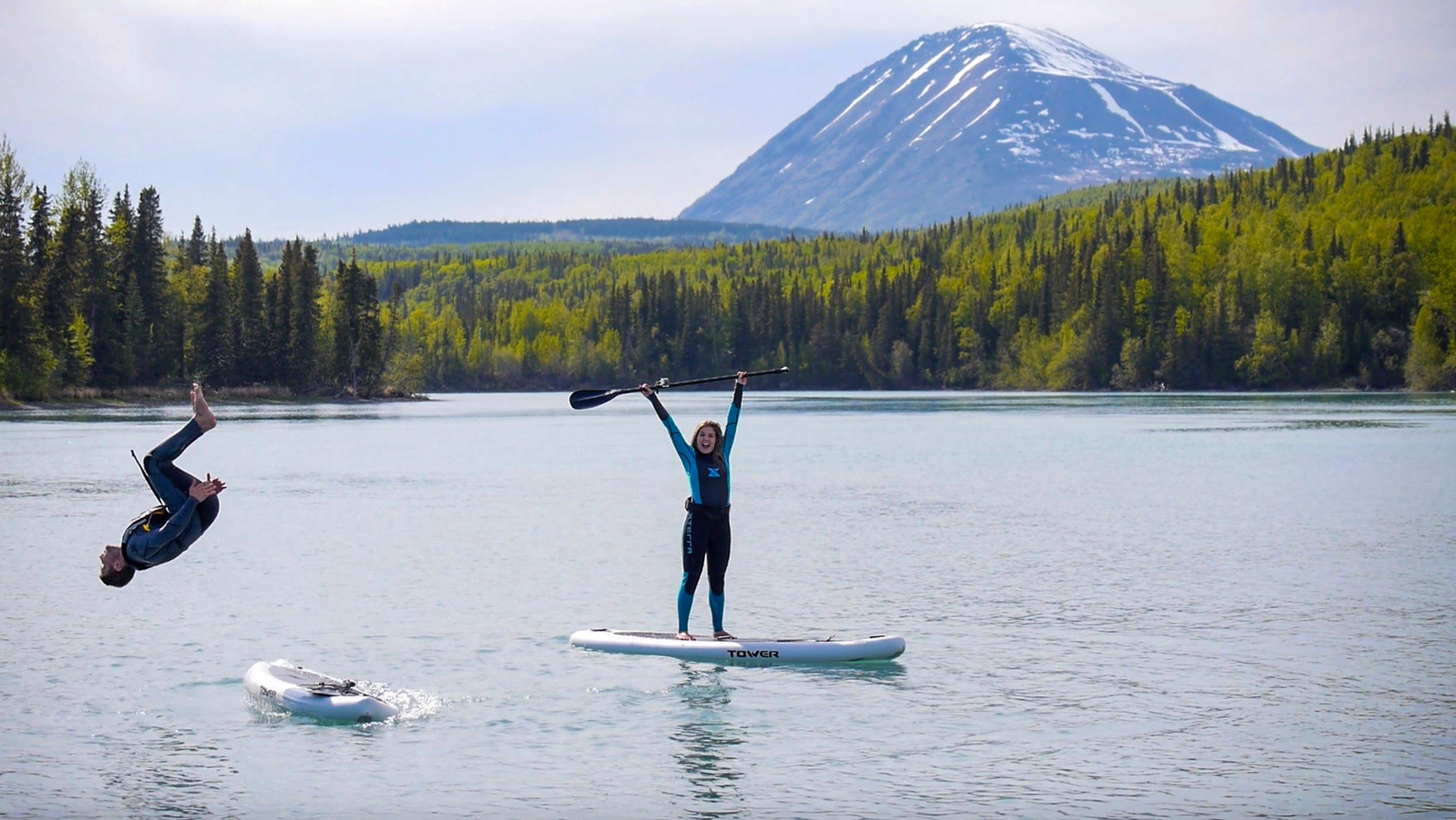 Stand Up Paddle in Alaska's Kenai Lake & Kenai River