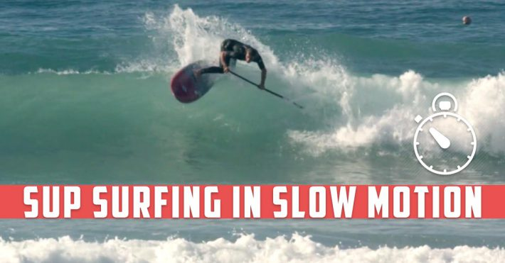 VIDEO: SUP Surfing in Slow Motion