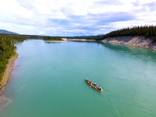 Yukon River Quest – The start of a 715km race