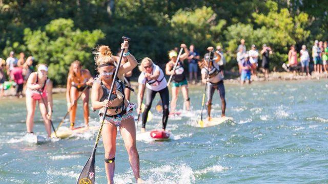 Fiona Wylde Naish Columbia Gorge Paddle Challenge 2016