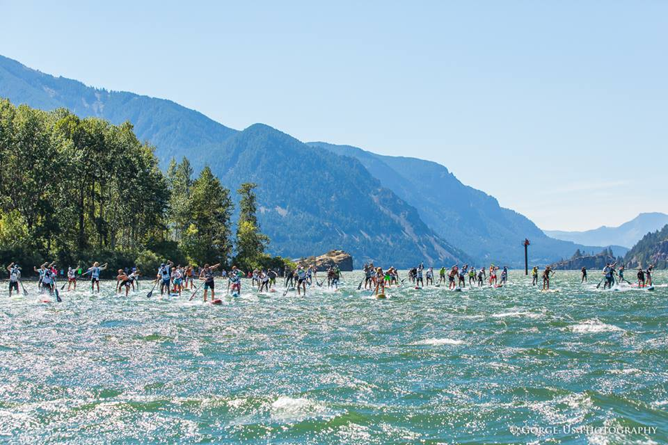 Recap & results : Naish Columbia Gorge Paddle Challenge 2016