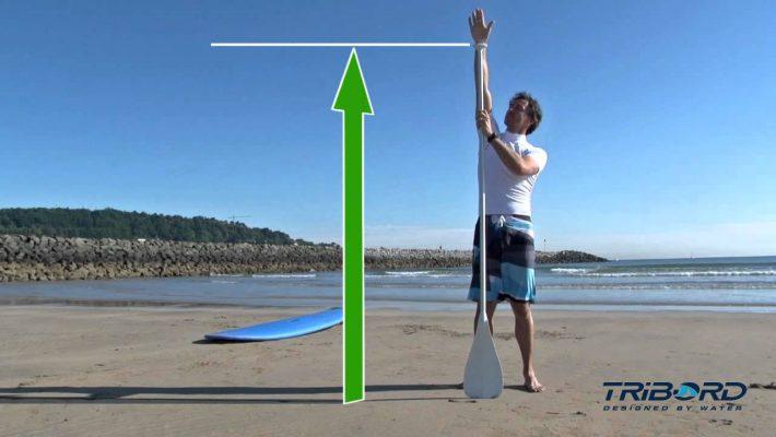 Comment régler la taille de sa pagaie en Stand Up Paddle ?