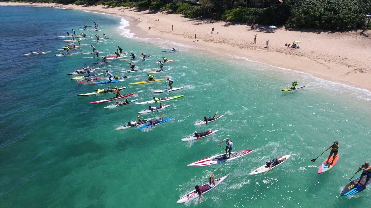 Results & Video summary of the Wet Feet, Blue Planet WPA Race Sunset to Haleiwa