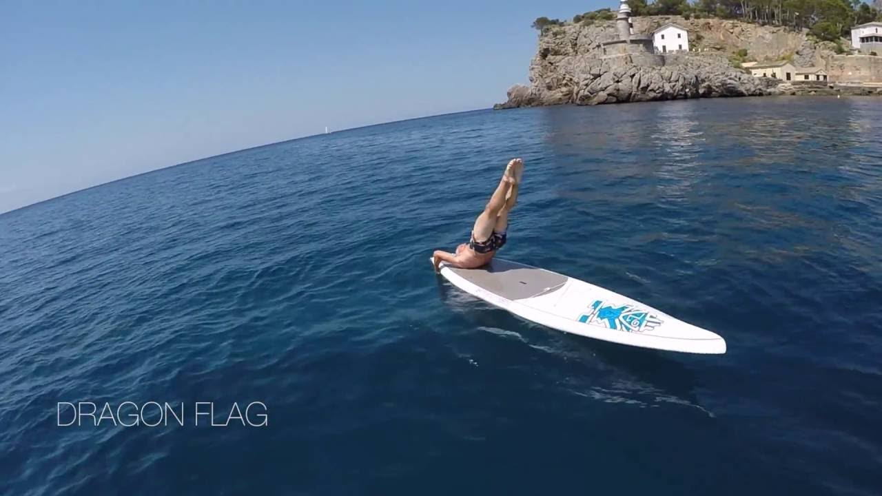 Some basic Nordic Skiing exercises for SUP