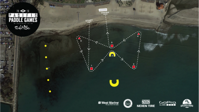 pacific paddle games 2015 - pro technical course