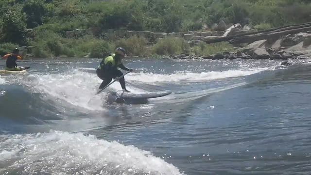 Hannah Ray Childs's SUP Tricks