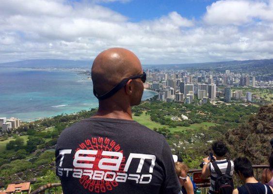 Hawaii, le rêve accompli de Romuald Mamadou