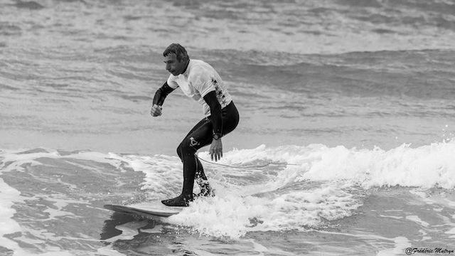 Lulu Langlois en surf