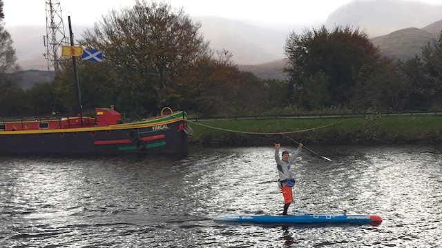 Bart de Zwart Sets a New Record at the Great Glen Paddle Challenge in Scotland