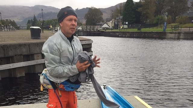 Bart de Zwart New Record at the Great Glen Paddle Challenge