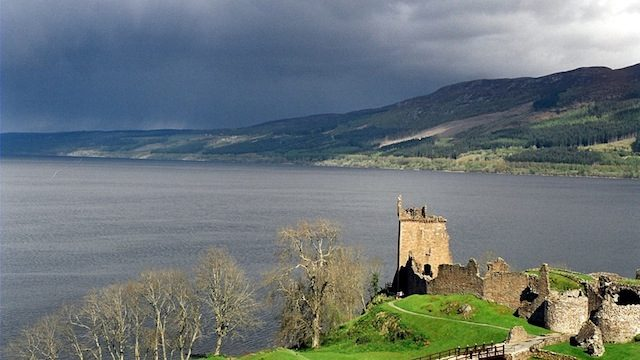 A SUP Race on The Loch Ness