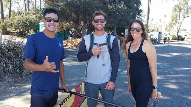 Riggs Napoleon, Josh Riccio and Jenny Kalmbach