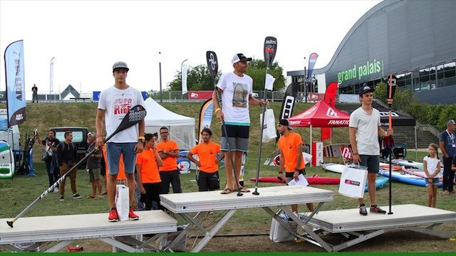 podium du nantes paddle experience