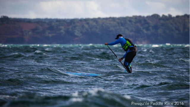 Titouan Puyo Champion de France SUP Race 14' 2016
