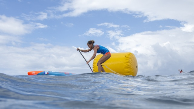 Candice Appleby wins the Long Distance in Fiji !