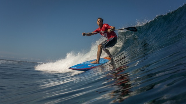 Sean Poynter SUP Surfing