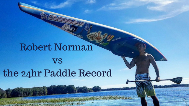 Robert Norman vs the 24 Hour Paddle Record