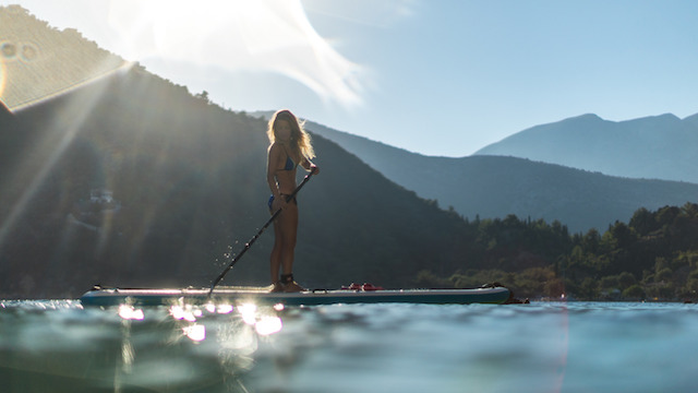 A Rustic SUP Trip Around The Ionian Islands