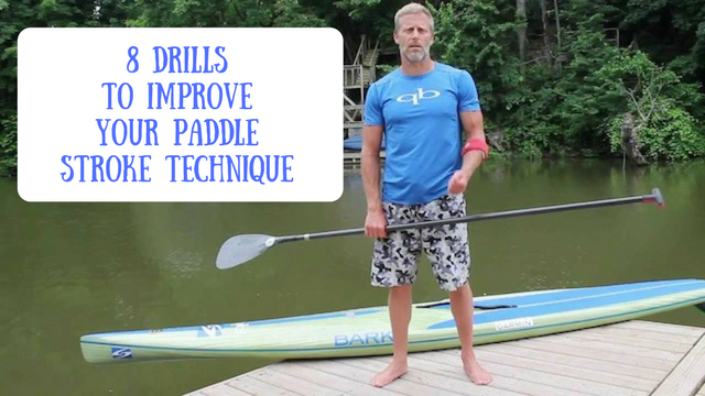 Improve Your Stand Up Paddle Stroke Technique