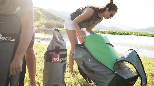 Red Paddle Co Unpacks a Bag Full of Resolutions for 2017