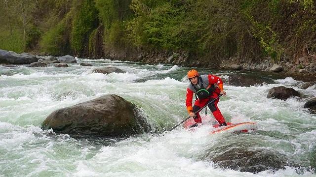 Dan Gavere, River SUP specialist