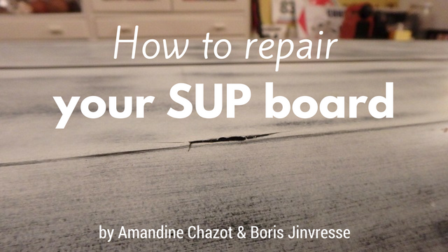 repair your SUP board