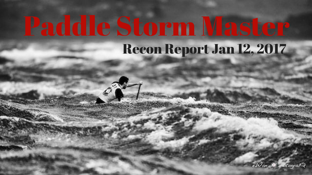 paddle storm master - recon report