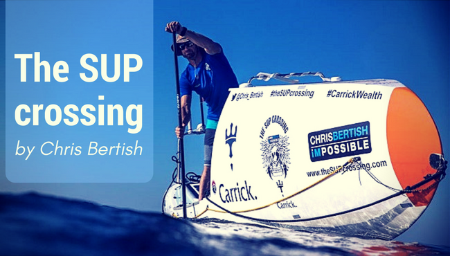 Chris Bertish's SUP Crossing: the Facts