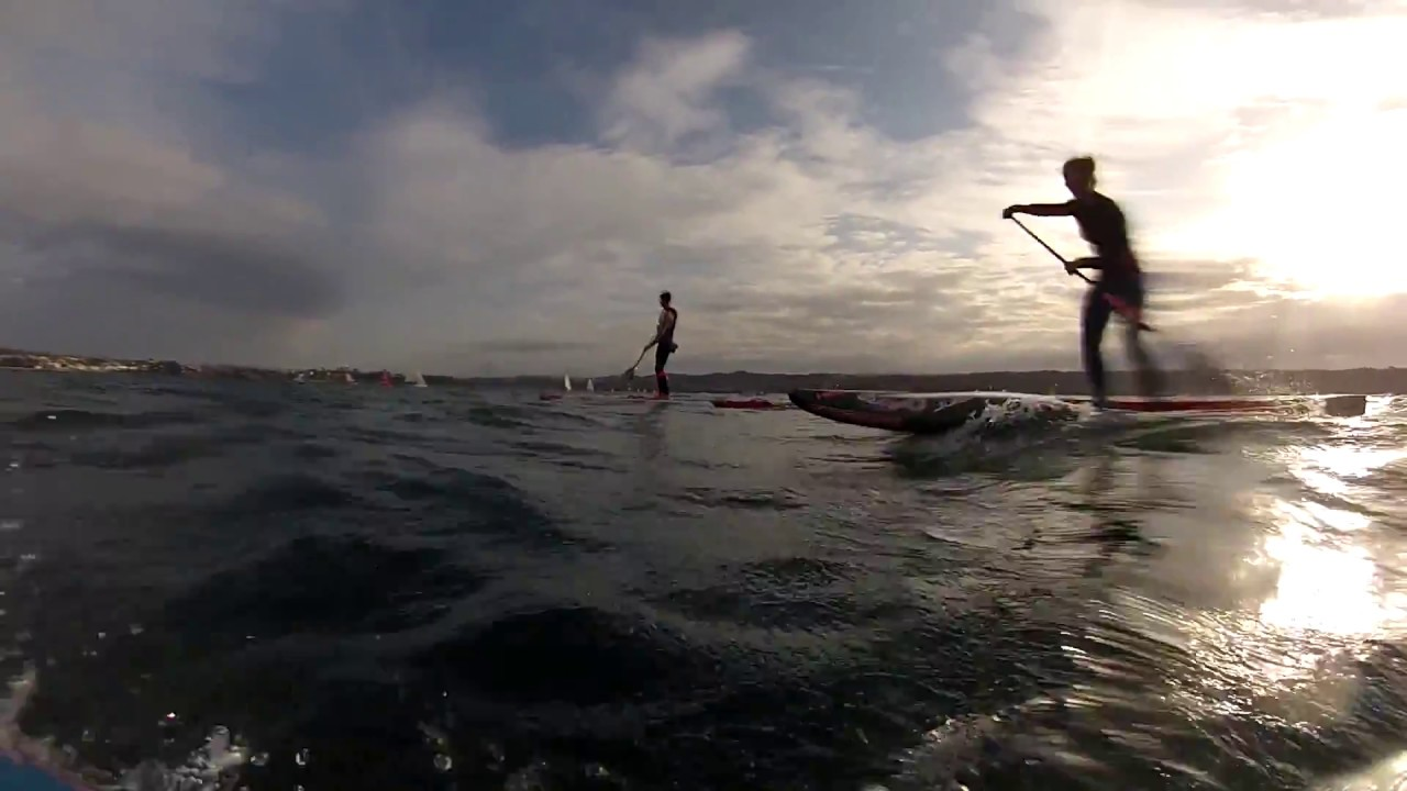 Huge Downwind in Brest, France with Boris Jinvresse, Amandine Chazot and Joseph Gueguen
