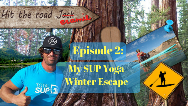 SUP Yoga in Winter with Jeramie Vaine