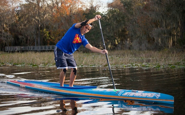 Robert Norman on supplies for his 24 hour guinness world record attempt