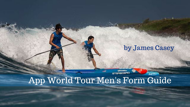 App World Tour Men's Form Guide by James Casey